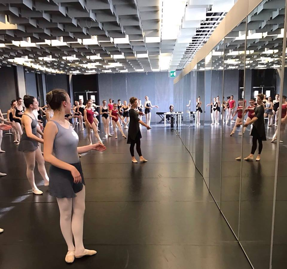 Examining and teaching for Russian Ballet Society Italia of the first time. Looking for Legat.